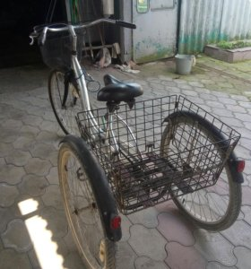 Трёхколесный взрослый велосипед