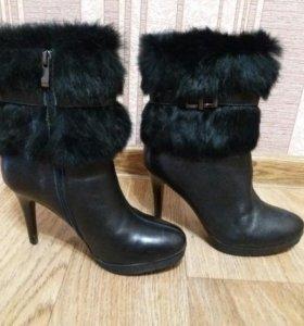 Ботинки зима натуральная кожа