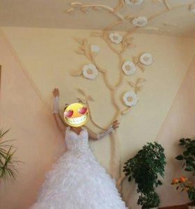 Свадебное Офигенское платье
