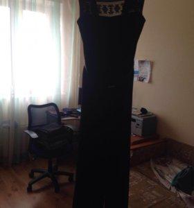 Брючный комбинезон Zara , черного цвета