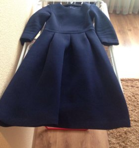 Платье синего цвета LUSIO