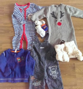 Одежда для мальчика от 3 до 8 месяцев