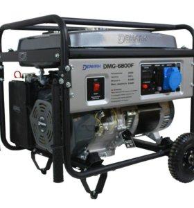 5кВт. Бензиновый Генератор DeMARK DMG-6800F
