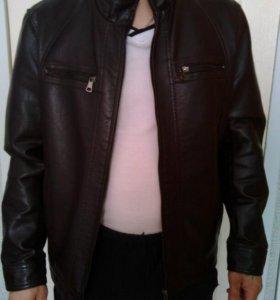 Куртка мужская(кожзам)