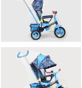 Велосипед с толкателем