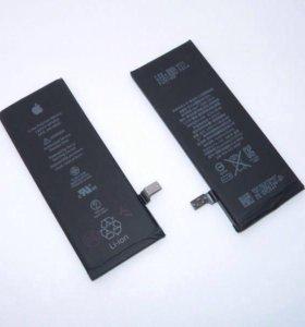 Аккумуляторы iPhone 4,4s,5,5s,5c,6,6s,6+