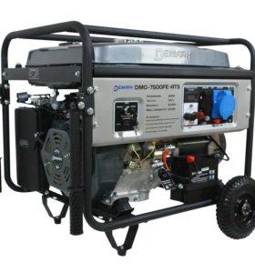 6кВт. Бензиновый Генератор DeMARK DMG-7500FE ATS