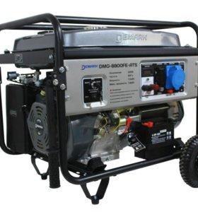 7 кВт. Бензиновый Генератор DeMARK DMG-8800FE ATS