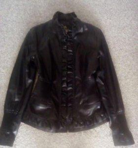 Курточка кожзам новая