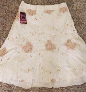 Новые Летняя юбка и кофта по 300р