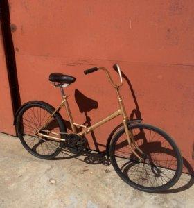 Золотой Велосипед Салют-С Отреставрированный СССР
