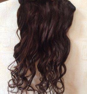 волосы натуральные 56 см