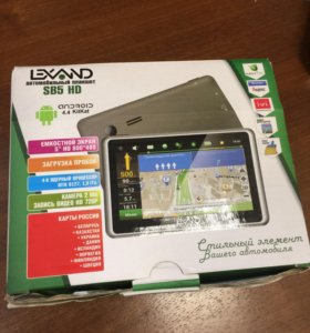 А/навигатор Lexand SB5 HD