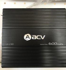 Новый 2-ух канальный усилитель acv lx 2.80