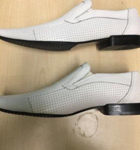 Продам макасины и туфли Aragona Кожа Италия Новые