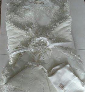 Конверт-одеялко для выписки