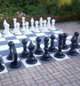Шахматы напольные