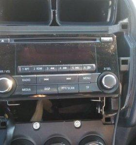 Магнитола и рамка Mitsubishi asx