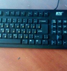 Классическая клавиатура BTC