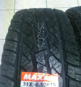 R15 31x10,5 Maxxis - Новые Грязевые Шины