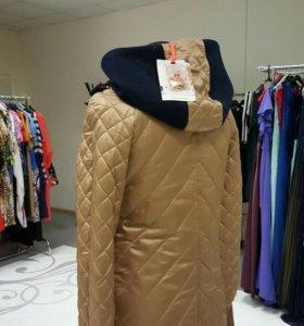 Новая куртка- пальто