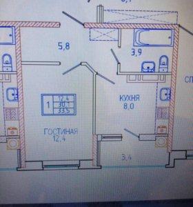 Продам 1- ую квартиру