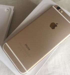 Apple IPhone 6 64gb Gold Как новый