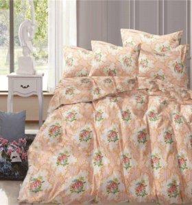 Комплекты постельного белья из сатина