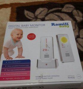 Продам радионяню Б/У Ramili baby RA400