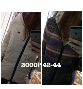 Зимняя куртка( двусторонняя)