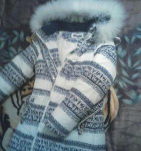Куртка - пуховик, зима