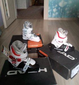 Новые детские горнолыжные ботинки