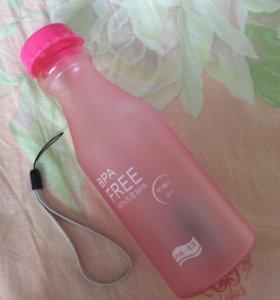 Бутылочка для воды новая 1 шт