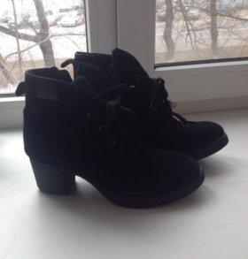 Зимние ботинки СолоСтайл замша