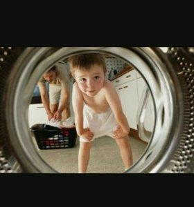 Ремонт стиральных и посудомоичных машин.