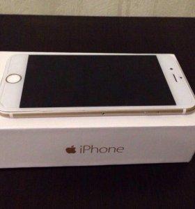 Apple iPhone 6 128Gb Gold+ чехлы в подарок