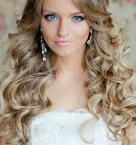 Прическа-завивка волос