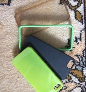 Чехлы на iPhone 5/5S/5SE б/у