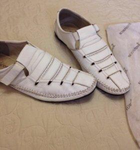 Мокасины-туфли летние
