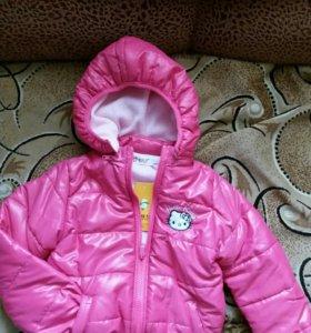 продам новую куртку на рост 110