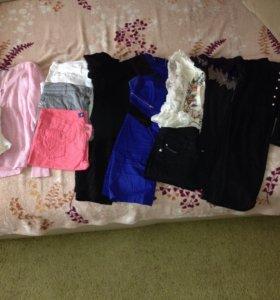 Пакет женской одежды 14 шт