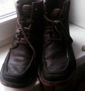 замшевые мужские ботинки весна-осень