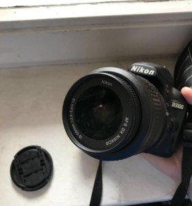 Фотоаппарат Nikon D3100 + объектив 18-55 VR