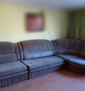 Большой красивый диван