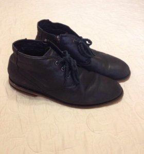 Ботинки-туфли зимние