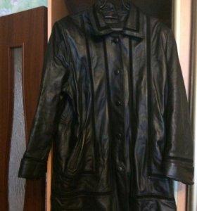 Куртка осень(кожа)