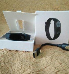 Новый браслет Xiaomi Mi Band 2 шагомер часы