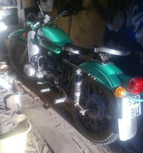 Мотоцикл Урал с документами