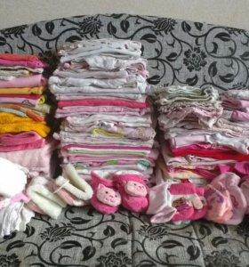 Одежда для девочки + кенгуру для деток