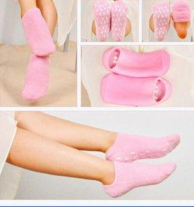 Гелевые увлажняющие SPA носки для педикюра